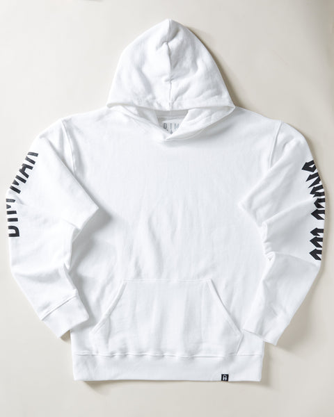 Kick Ass Bruce Lee Hoodie - White