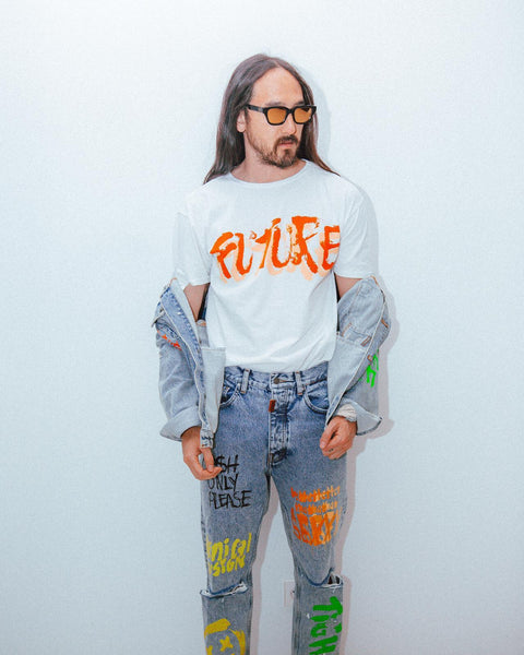 Tigha X Dim Mak Painted Tee