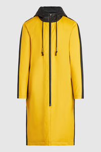 Rubber Raincoat - Yellow/Black