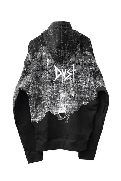 Dust of Gods x Aoki1of1: UNBREAKABLE Hoodie - Toronto - Black