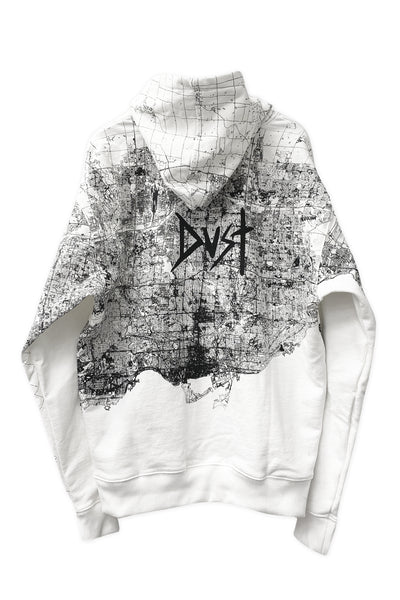 Dust of Gods x Aoki1of1: UNBREAKABLE Hoodie - Toronto - White