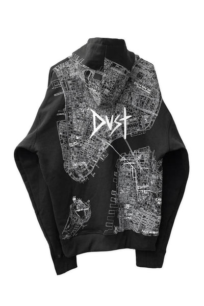 Dust of Gods x Aoki1of1: UNBREAKABLE Hoodie - New York - Black