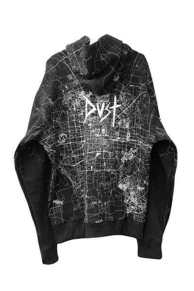 Dust of Gods x Aoki1of1: UNBREAKABLE Hoodie - Beijing - Black