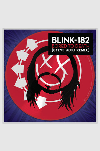 "blink-182 ""Bored To Death (Steve Aoki Remix)"""