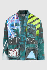 GHOST IN THE SHELL DMMK CAMO KIMONO JACKET #208