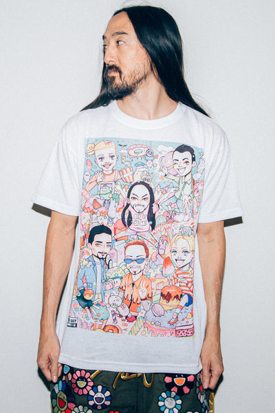 Steve Aoki x Backstreet Boys x Feggy Min - Let it Be Me Tee