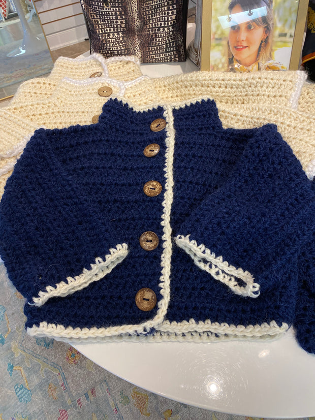 NEW! Handmade Cropped Cardigan