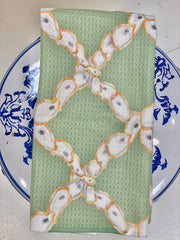 Oyster Lattice Kitchen Towel