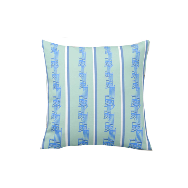 Rocker Stripe Outdoor Pillow