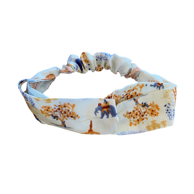Mountain Toile Headband
