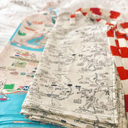Westport Map Apron- Color or Black and White