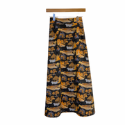 DeBordieu Skirt in Midnight Mountain Toile