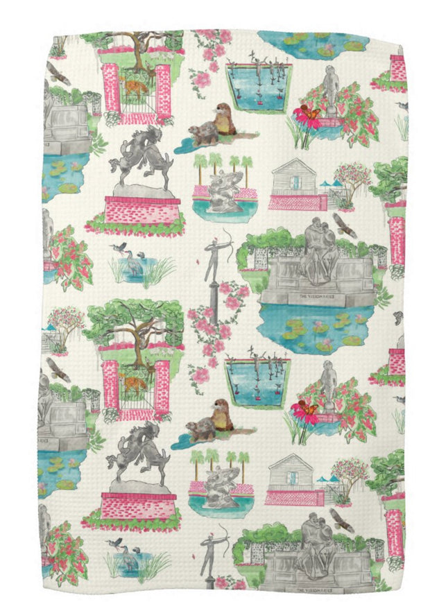 Brookgreen Gardens Kitchen Towel