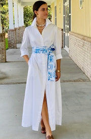 White Huntington Maxi
