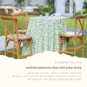 Custom Patterns and Products for Weddings
