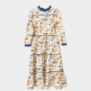 Sweetgrass Midi  Dress in Mountain Toile