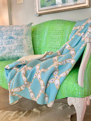 NEW! Coastal Blankets- in Two Prints and Two Colors