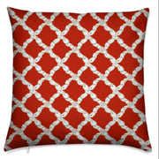 Oyster Lattice Christmas Pillow