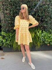 Fan Coral Goodwood Dress