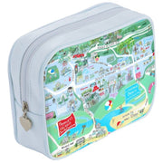 Pawleys Island Map Makeup Bag in Blue or Pink