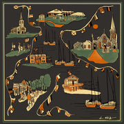 Southport Ct Silk Scarf