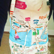Westport Map Apron