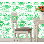 Pawleys Island Toile Peel and Stick Wallpaper in 7 Colors!!!!