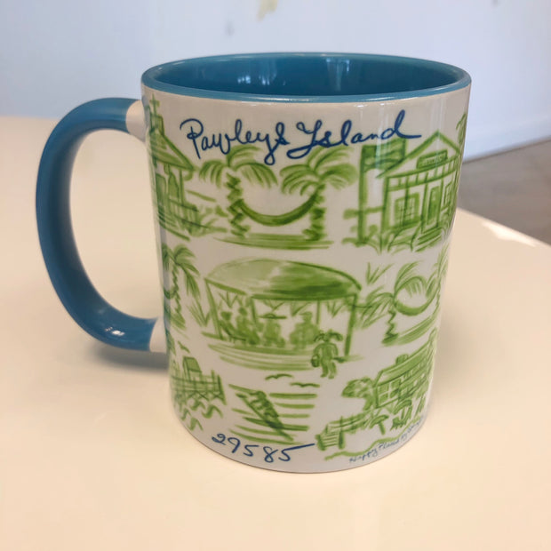 Pawleys Island Happy Mug in 7 Different Colors!