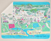 Pawleys Island / Litchfield Map Blanket
