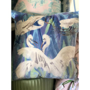The Rookery Pillow in Blue