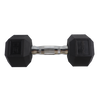 15lb Coated Hex Dumbbell