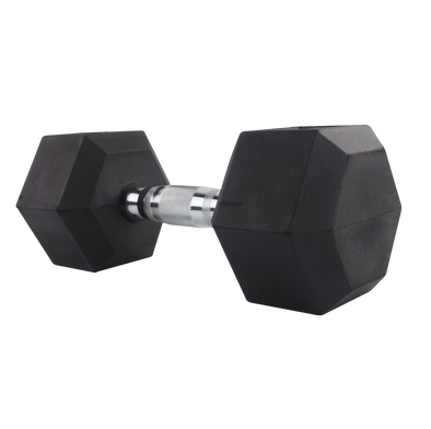 25lb Coated Hex Dumbbell