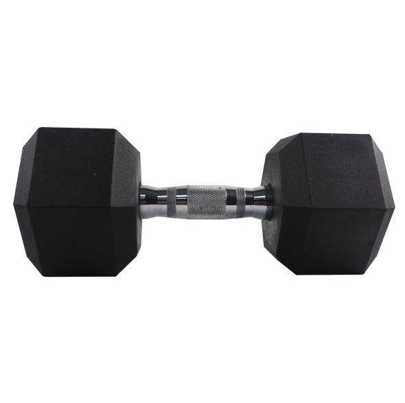 30lb Coated Hex Dumbbell
