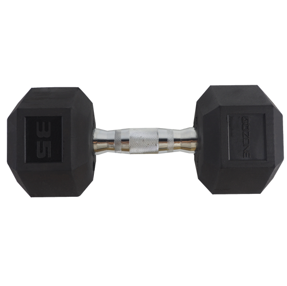 35lb Coated Hex Dumbbell