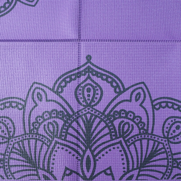 Printed Foldable Yoga Mat