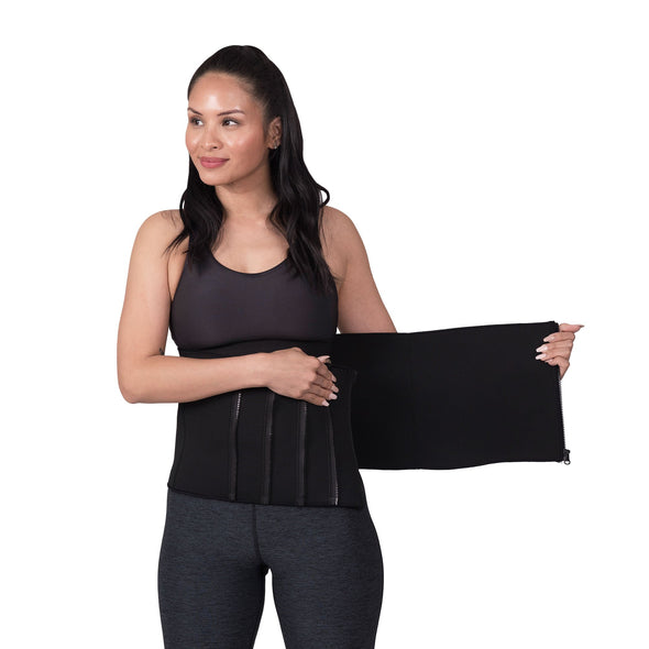 Zippered Waist Trimmer Belt
