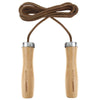 Leather Jump Rope with Wooden Handles