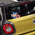 Stickers Voiture<br> Captain America