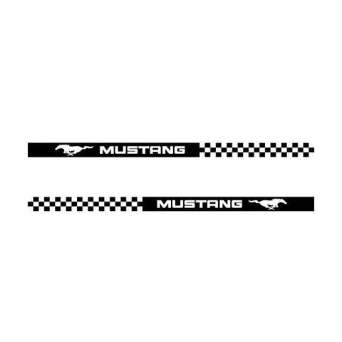Stickers Voiture Bandes Latérales Mustang