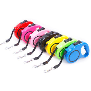 3M Dog Collars and Leashes Pet Dog Cat Puppy Automatic Retractable Traction Rope Walking Lead Leash Correa Perro
