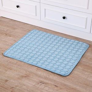 Drop ship Pet Dog Summer Cooling Mats Blanket Ice Cats Bed Mats For Dog Sofa Portable Tour Camping Yoga Sleeping Massage