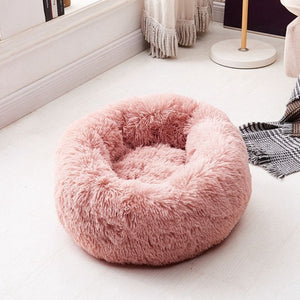 New Super Soft Dog Bed long plush Dog Kennel Deep Sleep Pet Bed Washable Velvet Mats Sofa For Dog Chihuahua Dog Basket Dog House
