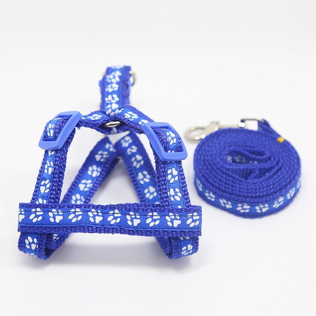 2019 Pet Dog Harness Leashes Puppy Collar for Small Dog Harness Medium Dog Products Adjustable Pet Accessories Arnes Perro 35