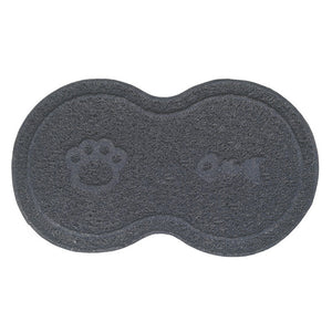 2019 New Pet Dog Cat Litter Mat Feeding Mat Puppy Kitty Dish Bowl Placemat Tray Tidy Easy Cleaning Sleeping Pad Cat Claw Mat Hot