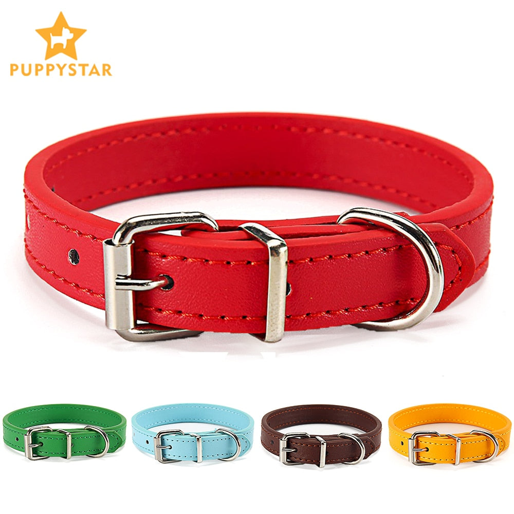 Cat Collar Safety Puppy Collar Chihuahua Solid Dog Collar For Cats Kitten Pet Cat Collars Adjustable Pet Leash Cat Lead Supplies