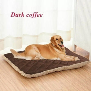Two Sides Plush Pet Mat Soft Warm Dog Cat Bed Kennel Puppy Sleeping Beds For Small Medium Large Dogs Pet Blanket Dropshipping
