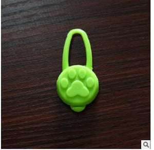 Pet Dog Night LED Flashlight Dog Cat Collar Glowing Pendant Safety Pet Leads Necklace Luminous Bright Decoration Collars For Dog