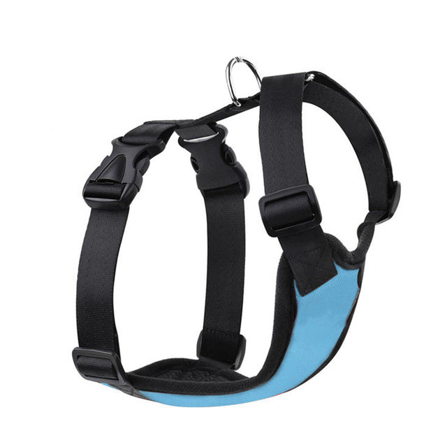 Pet Dog Harness leashes  Outdoor Training harness for dogs Padded  Car Safety Vehicle Harnesses Belt Walking Leads