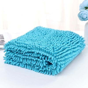 Fiber Pet Bath Towel Strong Water Absorption Bathrobe for Dog Cat Soft Grooming Quick-drying Multipurpose Cleaning Tool Supplies