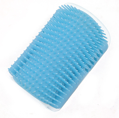 Pet Product For Cat Self Groomer Wall Brush Corner Cat Massage Self Groomer Comb Brush With Catnip Cat Rubs with a Tickling Comb
